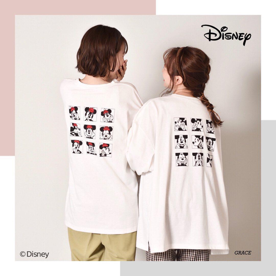 """︎Mickey & Minnie  item————————————————EW052411S002〈Mickey&Minnie>ソウガラロンT¥2530 with taxemsexciteからMickey&MinnieデザインのソウガラロンTが登場!ミッキー、ミニーの色んな表情がバックプリントに♡お友達とのオソロコーデに最適!#Disney#Mickey#Minnie#ディズニー#ミッキー#ミニー#emsexcite#エムズエキサイト"""" width=""""979″ height=""""979″  /></p>  <p class="""