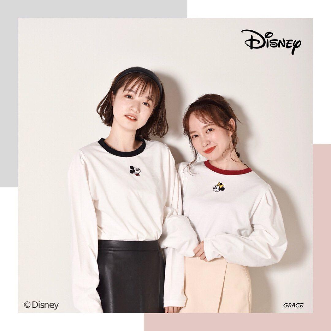 """︎Mickey & Minnie  item————————————————EW052411S001〈Mickey&Minnie>パワショルT ¥2530 with taxemsexciteからMickey&MinnieデザインのパワショルTが登場!袖のボリュームが今っぽい♡お友達とのオソロコーデに最適!#Disney#Mickey#Minnie#ディズニー#ミッキー#ミニー#emsexcite#エムズエキサイト"""" width=""""979″ height=""""979″  /></p>  <p class="""