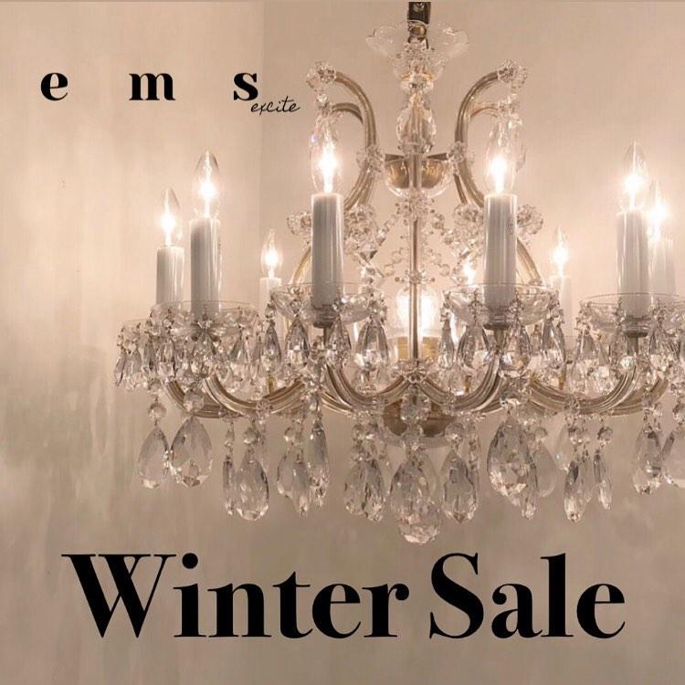 ︎️emsexcite Winter Sale店舗もオンラインストアも今ならお得#emsexcite #emsexciteコーデ #sale#wintersale #セール#プチプラ