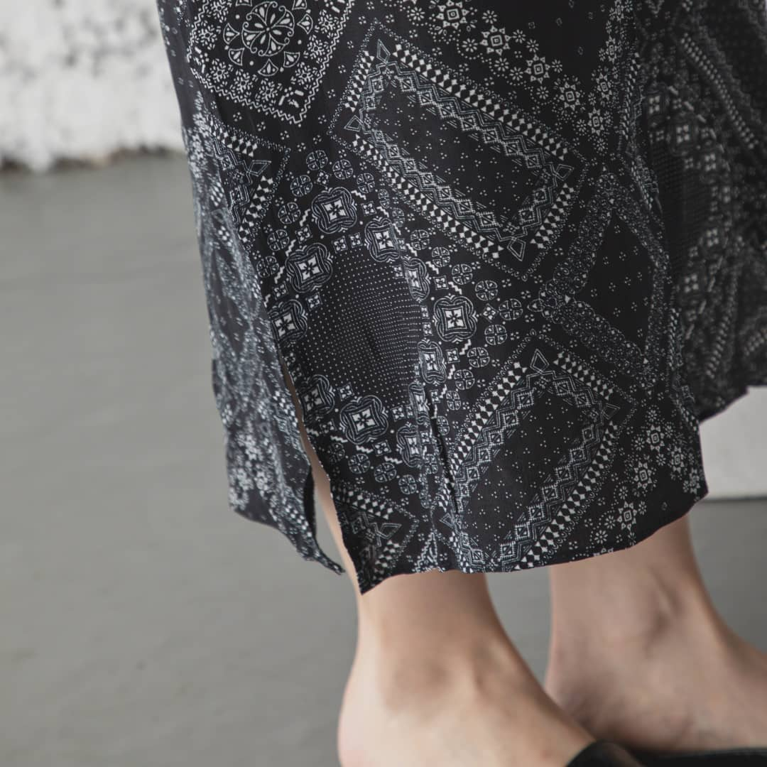 ▷pattern skirt¥6,500+taxbrown/black#カウリアンドリィリィ#カウリ#kariandlili#柄スカート#韓国#韓国ファッション#韓国コーデ#韓国スタイル#スカートコーデ#スカートスタイル#大人スカート#柄アイテム#大人コーデ#大人スタイル#大人可愛い#fashion#wear