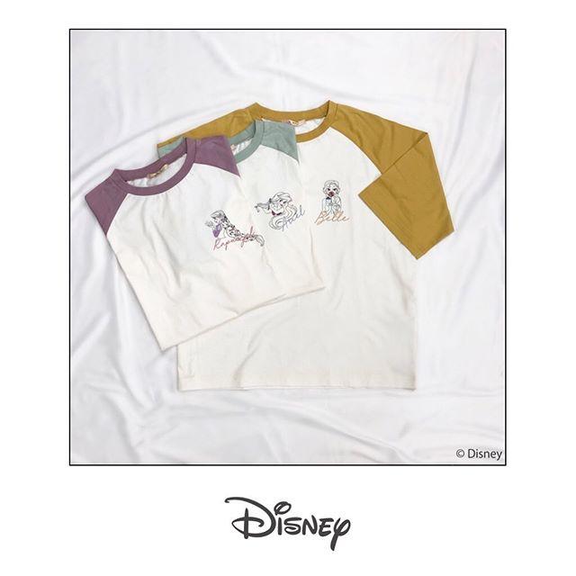 ︎Disney design item————————————————EP052411C002〈Disney Princess〉ラグランTEE¥1900+taxemsexciteからDisney PrincessデザインのラグランTEEが登場!Princessのイメージカラーに合わせたラグランデザインに胸元のプリンセスがとってもキュート♡#Disney #Disneyprincess #princess#ディズニー #ベル #アリエル #ラプンツェル#emsexcite #エムズエキサイト