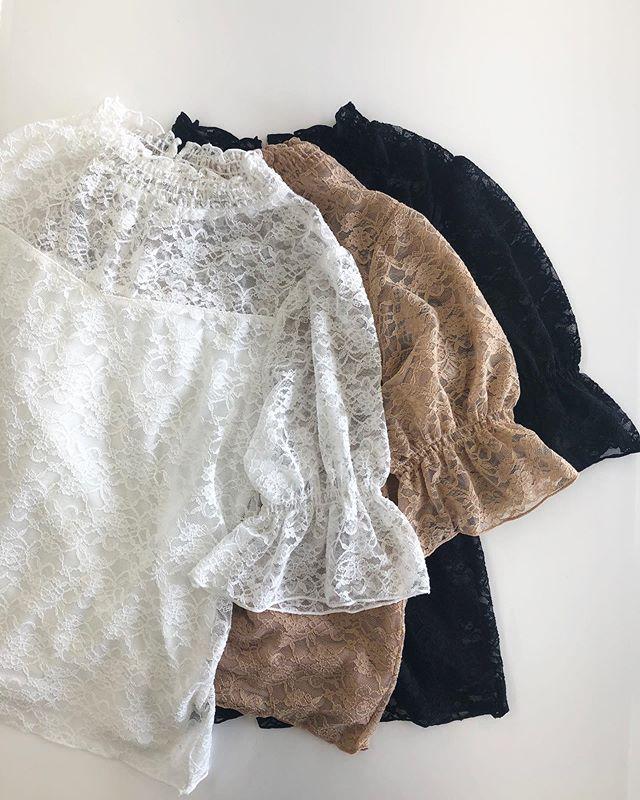 .【sale item !! 】.?RE954711B003レースHNTee▷¥1,900+tax → ¥1,500+tax(店舗入荷中).∥color∥ white / orange / black..#retrogirl#newarrival#fashion#summer#tops#レトロガール#カジュアル#カジュアルアイテム#プチプラ#プチプラアイテム#プチプラファッション#プチプラコーデ#レースt#レースtシャツ
