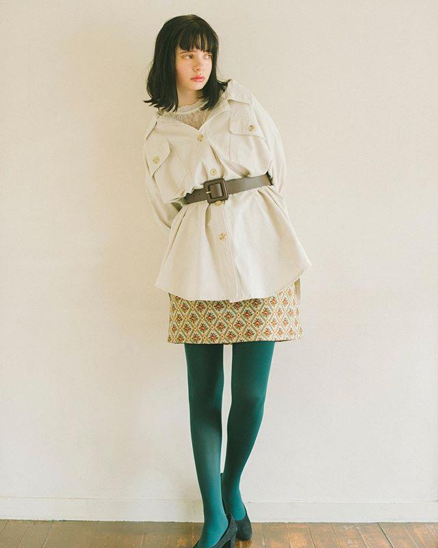 .【Recommended styling】.🏷RF954711C002レースHN Tee▷¥1,900+tax.🏷RF980021C003CPOツイルJK▷¥2,900+tax.🏷RF9P0131C007ゴブランミディSK▷¥2,900+tax.🏷RF9S0141C001スクエアバックル太ベルト▷¥1,500+tax.🏷RF955242C001ふかふかパンプス▷¥1,900+tax(9月上旬入荷)..#retrogirl#newarrival#fashion#autumn#レトロガール#カジュアル#カジュアルアイテム#プチプラ#プチプラアイテム#プチプラファッション#プチプラコーデ