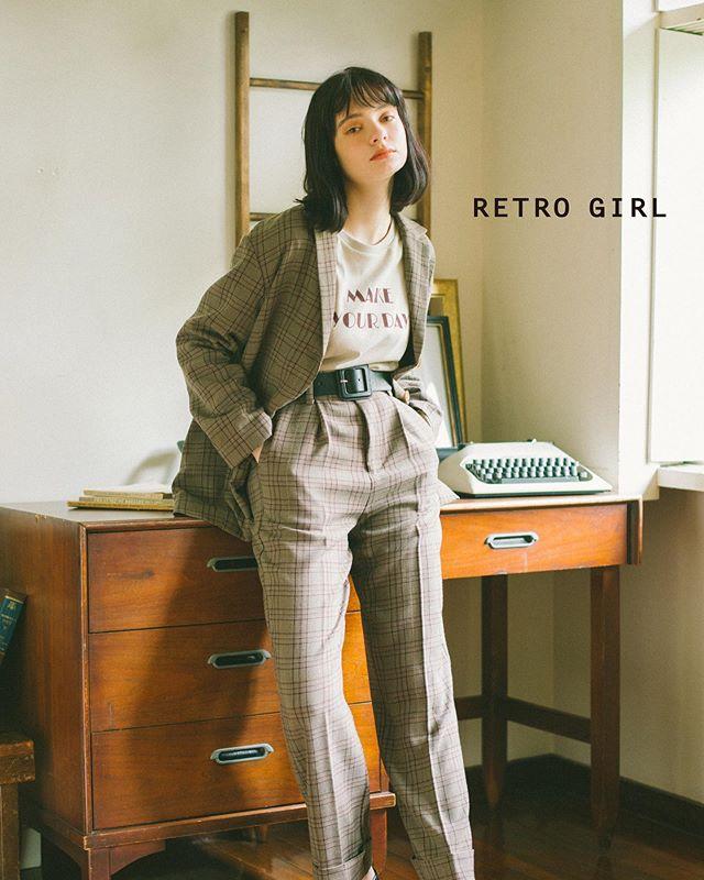 ...RETRO GIRL  2019 A/W..#retrogirl #retrogirl2019aw