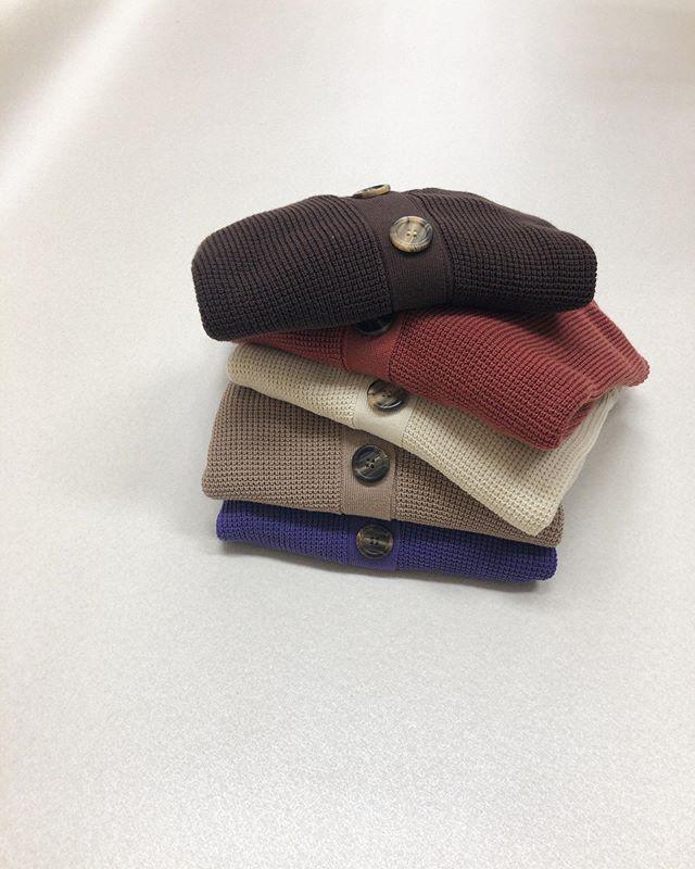 .【new arrival】.🏷RF980012C002Vネックニットカーデ▷¥2,300+tax(店舗入荷中).∥color∥white / red / beige /  purple / brown..#retrogirl#newarrival#fashion#Autumn#skirt#レトロガール#カジュアル#カジュアルアイテム#プチプラ#プチプラアイテム#プチプラファッション#プチプラコーデ#ニットカーディガン#ニットカーデ