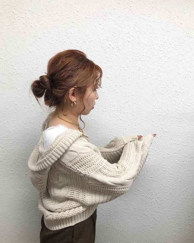 .【Recommended  knit item】.🏷RF980012C002ケーブルニットフーディー▷¥3,500+tax(店舗入荷中).∥color∥beige / yellow / brown..#retrogirl#newarrival#fashion#Autumn#knit#レトロガール#カジュアル#カジュアルアイテム#プチプラ#プチプラアイテム#プチプラファッション#プチプラコーデ#ニットカーディガン#ケーブルニットカーディガン#カーディガン