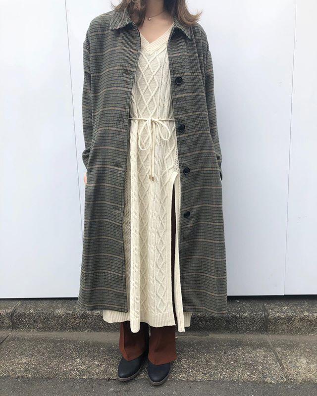 .【new arrival】.🏷RW937521C002 ステンカラーコート▷¥6,900+tax(明日.明後日店舗入荷).∥color∥khaki / beige..たくさんのお問い合わせ頂いておりましたTGC北九州2019にてIZ*ONEのキム・ミンジュさん着用のアウターになります..#retrogirl#newarrival#fashion#Autumn#coat#レトロガール#カジュアル#カジュアルアイテム#プチプラ#プチプラアイテム#プチプラファッション#プチプラコーデ#ステンカラーコート